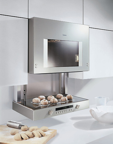 gaggenau lift oven kitchann style. Black Bedroom Furniture Sets. Home Design Ideas