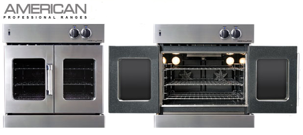 this oven features innovection convection technology which means it has 2 convection motors and louvered side panels to enhance baking performance