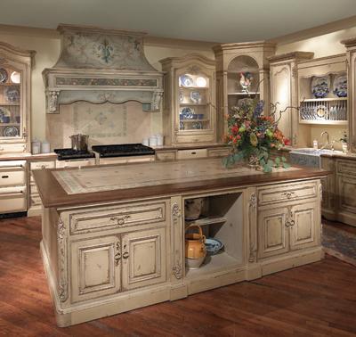 Old world style kitchens kitchen studio of naples inc for Old world style kitchen
