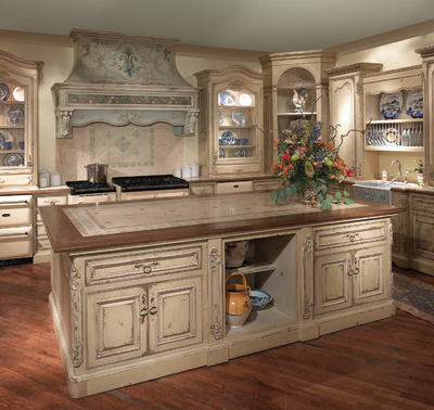 Old world style kitchens welcome to kitchen studio of for Old house kitchen ideas