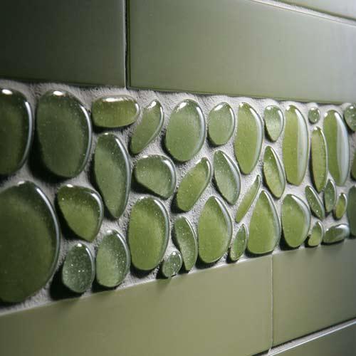 Green agates tile | Kitchann Style