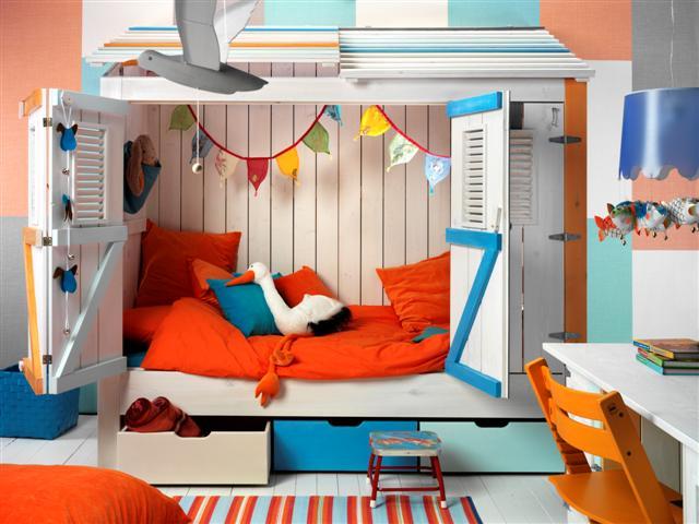 Children S Bed Cupboard Kitchen Studio Of Naples Inc
