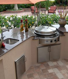 Another Indoor/outdoor Option Comes From Evo, Inc. They Offer The Affinity  Built In Cooking Appliance In Both A Residential And Professional Models.