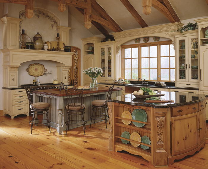 Old World Kitchen Cabinets