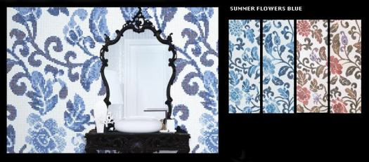 Bisazza Summer Flower Collection