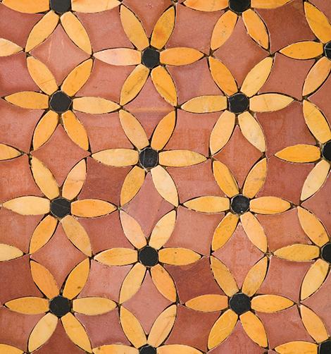 sonja la fluer mosaic