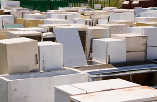 Click for Appliance recycling slide show