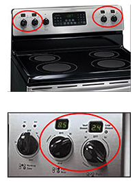 range-recall knob picture