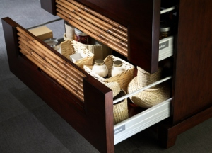Bambu hidden drawer from KBIS