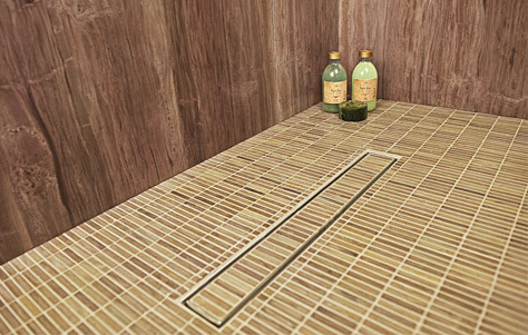 Tile Drain By Infinity Drain Kitchen Studio Of Naples Inc