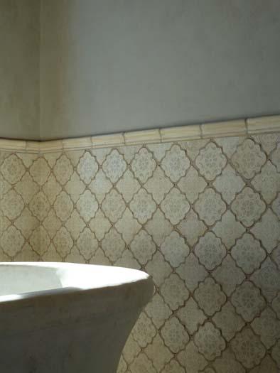 Arabesque Tile Backsplash Moroccan Style