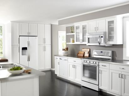 Whirlpool White Ice Kitchen Suite