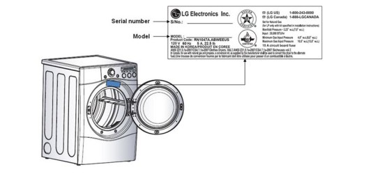 LG dryer recall Serial number location | KitchAnn Style