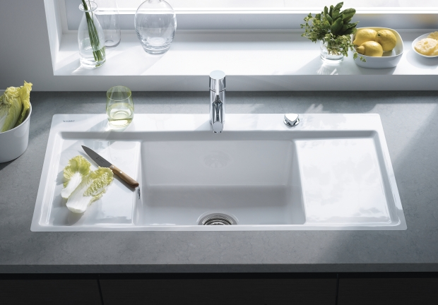 Sink Styles For Kitchen : Duravit Kitchen Sinks Welcome to Kitchen Studio of Naples, Inc.!