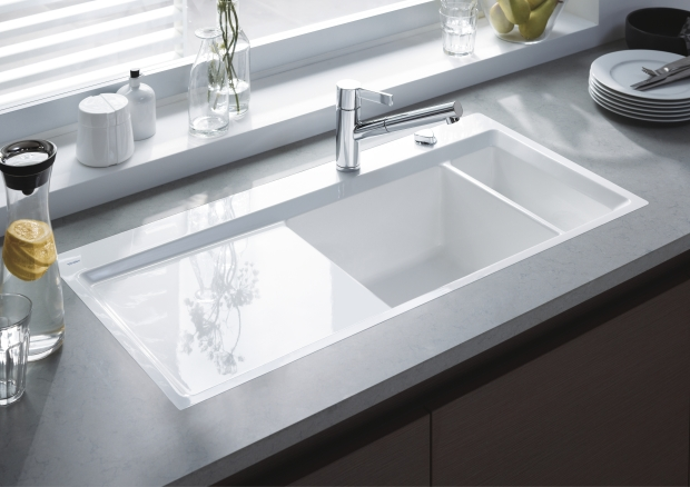 Duravit kitchen sinks welcome to kitchen studio of naples inc - Evier ikea ceramique ...