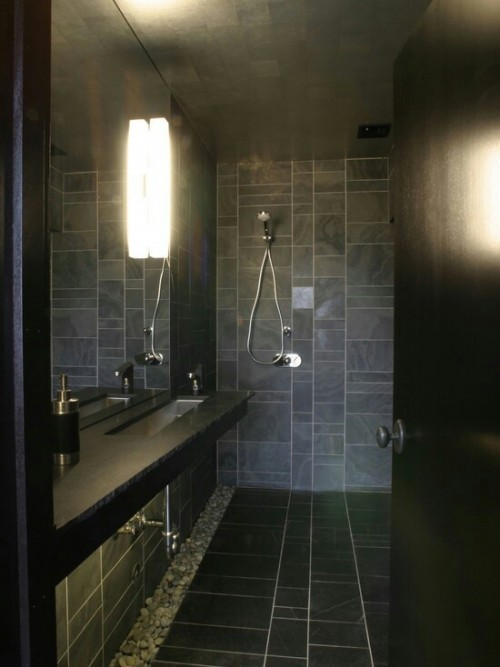 Grey Bathroom | KitchAnn Style
