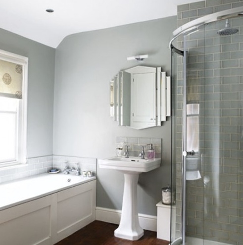 Light Grey Bathroom | KitchAnn Style