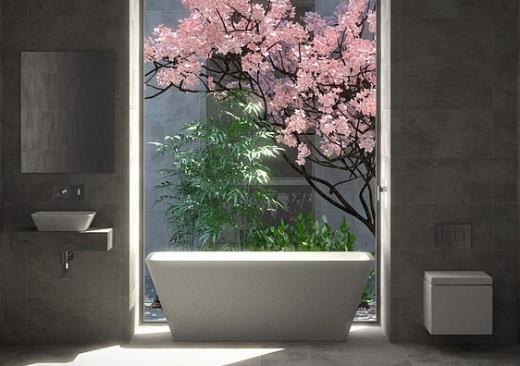 Color trends kitchen studio of naples inc for Zen bathroom design ideas