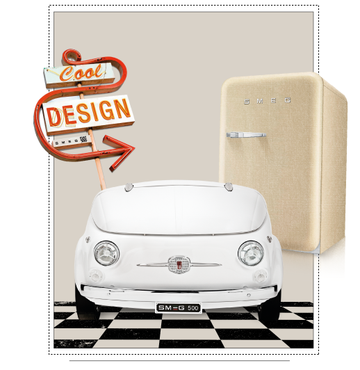 cool zone smeg fiat | KitchAnn Style