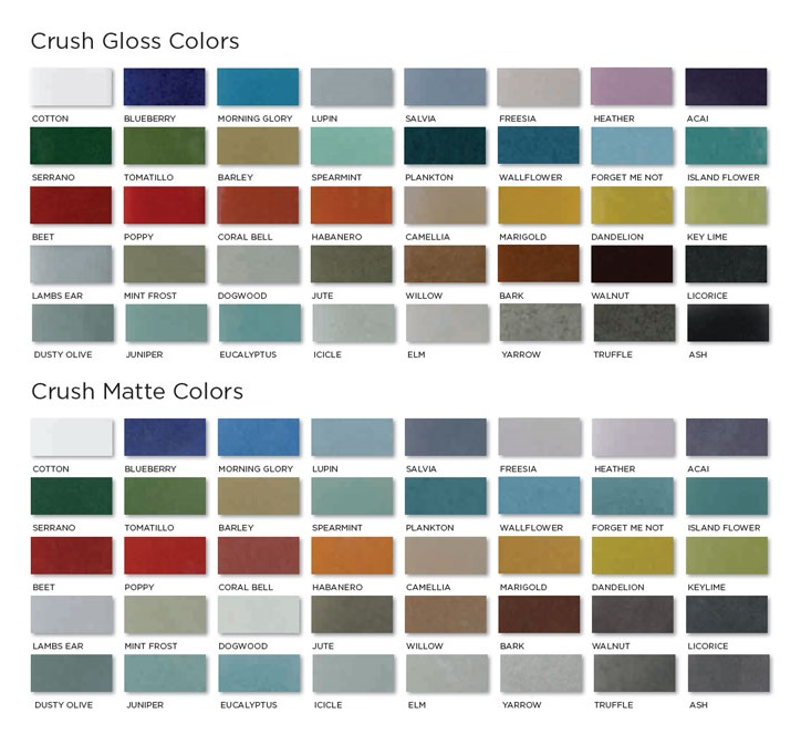 Crush 100% Recycled Glass Tile | Welcome to Kitchen Studio