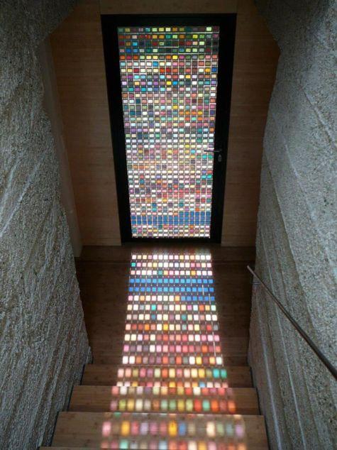 Crush glass tile | KitchAnn Style
