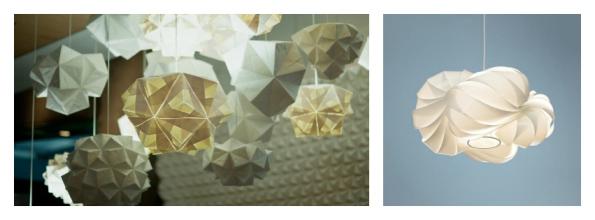 Foldability and Possini Euro White Cloud Pendant | KitchAnn Style