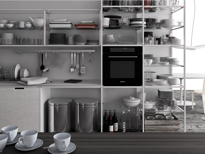 Demode Meccanica shelves | KitchAnn Style