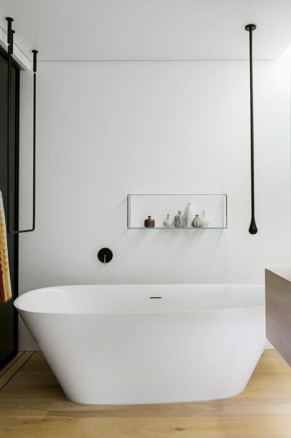 Gessi Goccia Hanging Towel bar via Darren Genner