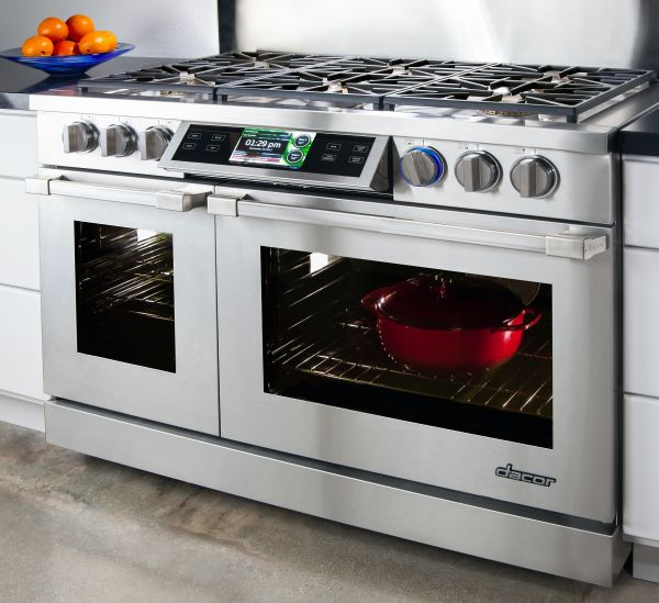 dacor discover iq dual fuel range kitchen studio of
