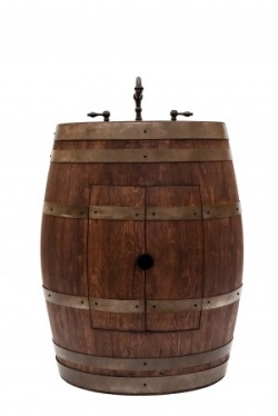 Wine Barrel Vanity Sink | KitchAnn Style