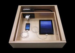 Charging drawer | Kitchen Studio of Naples