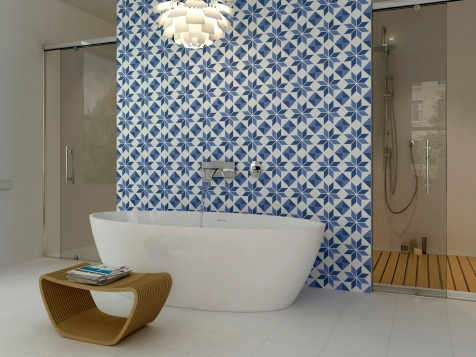 Tile Trends 2014 Encaustic   KitchAnn Style