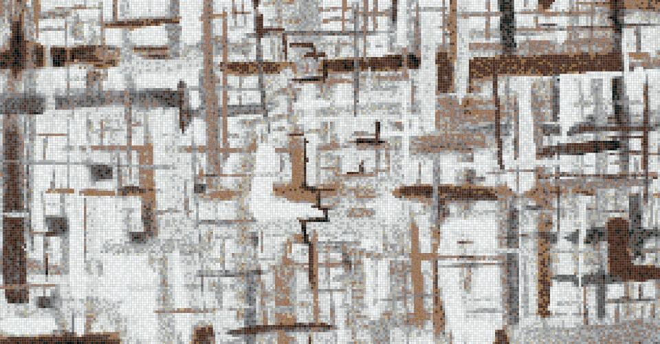 Artaic Mosaic Pattern | KitchAnn Style