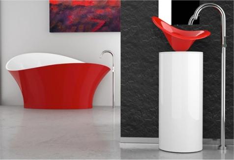 Glassdesign FLOwer Tub   KitchAnn Style