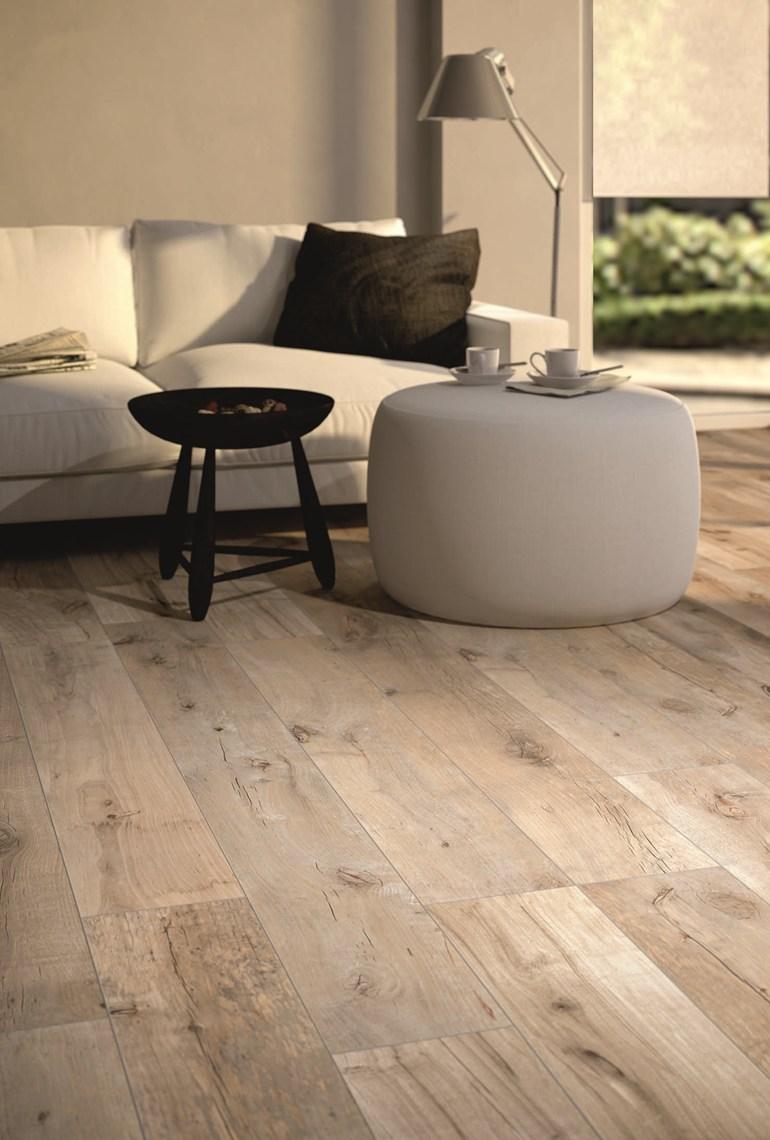 Perfectly Nonperfect Ceramic Wood Planks Kitchen Studio