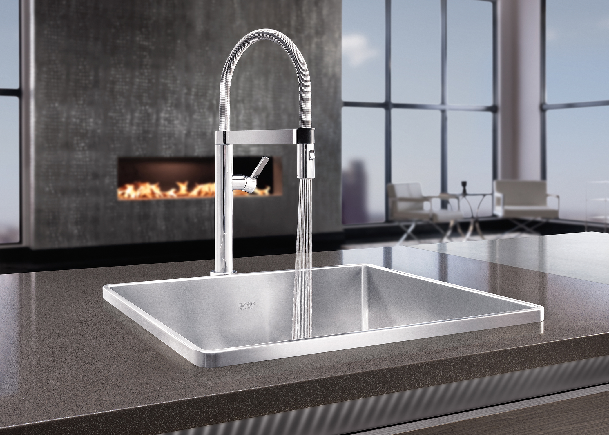 Blanco Faucets Usa : Consumers still want to work in a gourmet kitchen inspired by world ...