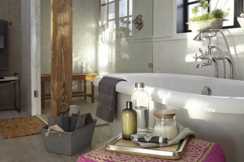 Lofty visions bath DXV panel | KitchAnn Style