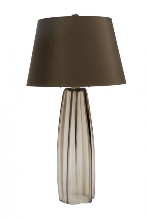 Margot Lamp Satin Sepia | KitchAnn Style