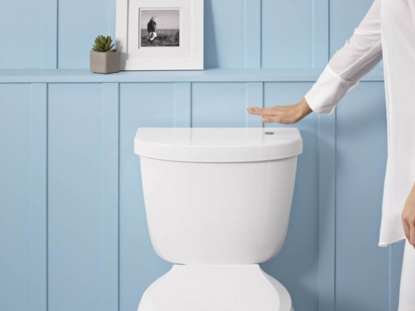 Kohler touchless toilet | KitchAnn Style