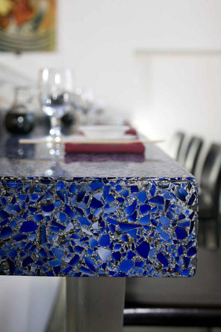 Blue Kitchen Inspiration | KitchAnn Style
