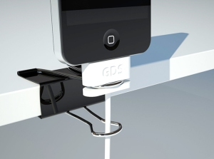 apple charging cable with binder clip |KitchAnn Style