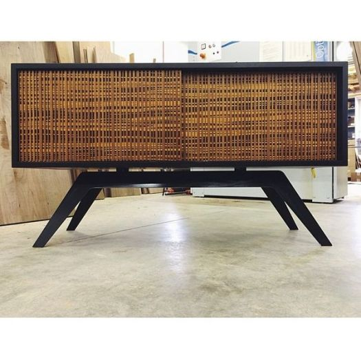 carved bamboo credenza cabinet| Kitchann Style