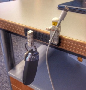 LEGO Minifig Cable Holder| KitchAnn Style