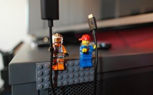 LEGO Minifigure Cord Holder| KitchAnn Style