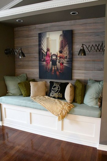 Rustic Reading Nook idea |KitchAnn Style
