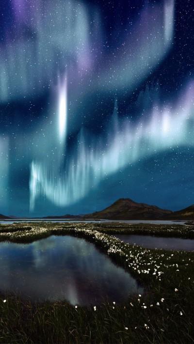 Voyage Theme aurora borealis | KitchAnn Style