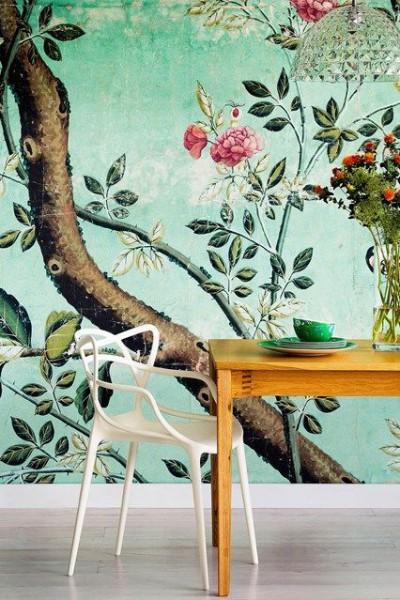 Buoyant Theme Botanical Interior | KitchAnn Style