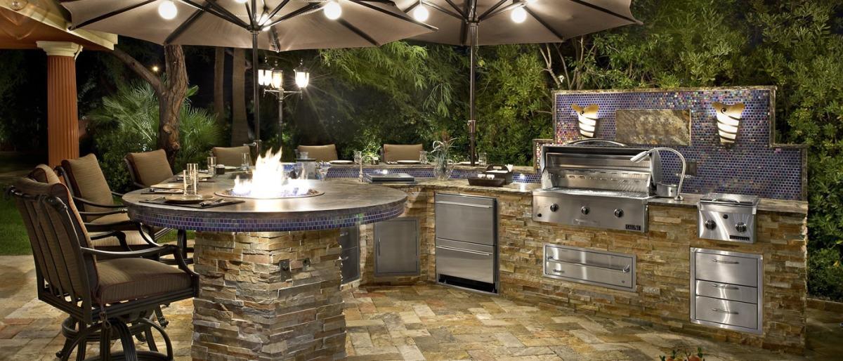 Outdoor Kitchen Design Kitchen Studio of Naples Inc – Outdoor Kitchen Lighting