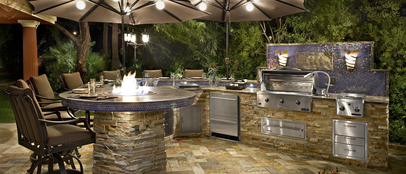 Outdoor Kitchen Cabinets and Design | KitchAnn Style