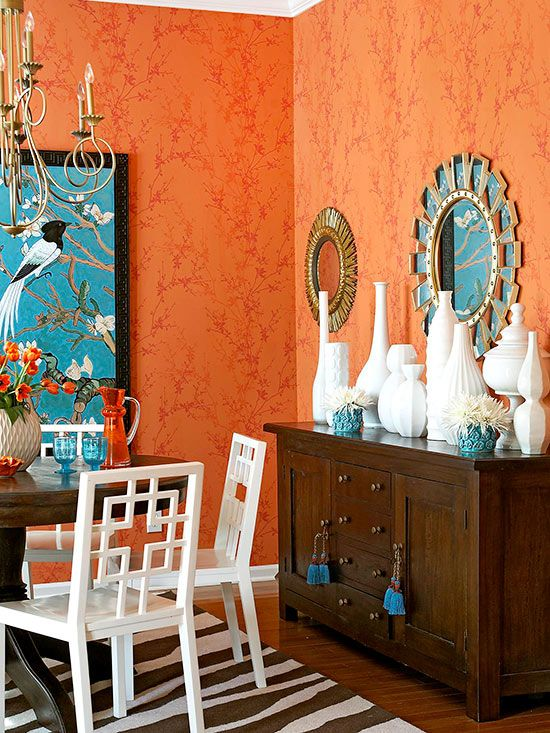 Colormix 2015 inspiration unrestrained kitchen studio for Decorating with the color orange